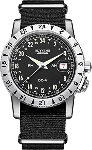 グリシン スイスウォッチ 腕時計 メンズ グライシン 【送料無料】Glycine Airman dc4 Mens Analog Swiss Automatic Watch with Nylon Bracelet GL0072グリシン スイスウォッチ 腕時計 メンズ グライシン