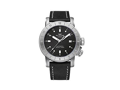グリシン スイスウォッチ 腕時計 メンズ グライシン 【送料無料】Glycine Airman 42 Double Twelve Mens Analog Swiss Automatic Watch with Leather Bracelet GL0063グリシン スイスウォッチ 腕時計 メンズ グライシン