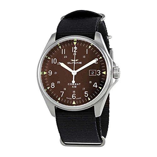 グリシン スイスウォッチ 腕時計 メンズ グライシン 【送料無料】Glycine Combat 6 Vintage Automatic Brown Dial Mens Watch GL0123グリシン スイスウォッチ 腕時計 メンズ グライシン