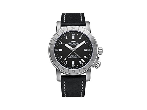 グリシン スイスウォッチ 腕時計 メンズ グライシン 【送料無料】Glycine Airman 42 Mens Analog Swiss Automatic Watch with Leather Bracelet GL0066グリシン スイスウォッチ 腕時計 メンズ グライシン