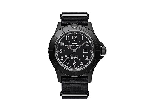 グリシン スイスウォッチ 腕時計 メンズ グライシン 【送料無料】Glycine Combat Mens Analog Automatic Watch with Nylon Bracelet GL0098グリシン スイスウォッチ 腕時計 メンズ グライシン