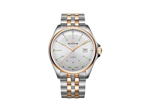 グリシン スイスウォッチ 腕時計 メンズ グライシン 【送料無料】Glycine Combat 6 Automatic Silver Dial Men's Watch GL0104グリシン スイスウォッチ 腕時計 メンズ グライシン