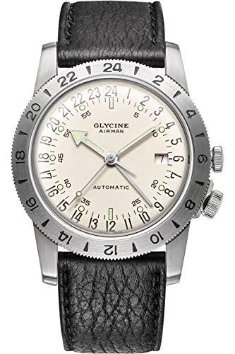 グリシン スイスウォッチ 腕時計 メンズ グライシン 【送料無料】Glycine Airman No. 1 GMT Limited Edition Automatic Silver Dial Men's Watch GL0164グリシン スイスウォッチ 腕時計 メンズ グライシン
