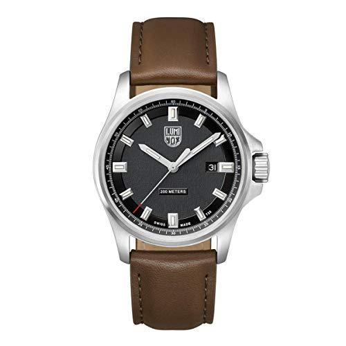 ルミノックス アメリカ海軍SEAL部隊 ミリタリーウォッチ 腕時計 メンズ 【送料無料】Luminox 1831 Men's Dress Field Black Dial Brown Leather Strap Watchルミノックス アメリカ海軍SEAL部隊 ミリタリーウォッチ 腕時計 メンズ