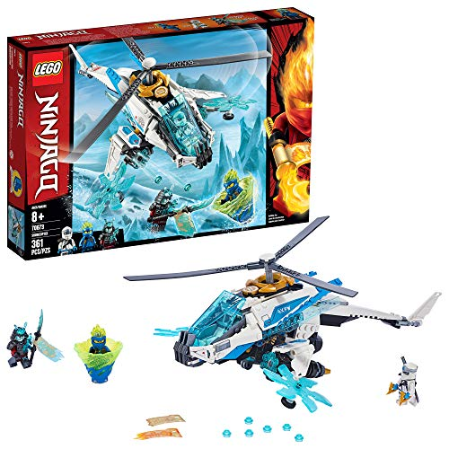 レゴ ニンジャゴー 【送料無料】LEGO NINJAGO ShuriCopter 70673 Kids Toy Helicopter Building Set with Ninja Minifigures and Toy Ninja Weapons (361 Pieces)レゴ ニンジャゴー