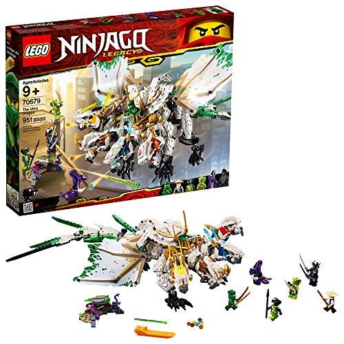 レゴ ニンジャゴー 【送料無料】LEGO NINJAGO Legacy The Ultra Dragon 70679 Building Kit (951 Pieces)レゴ ニンジャゴー