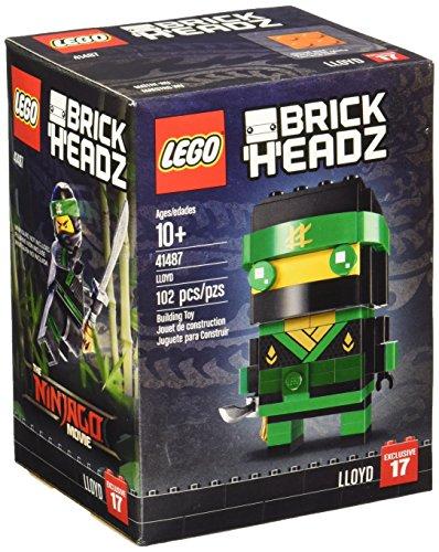 レゴ ニンジャゴー LEGO BrickHeadz Lloyd 41487 Ninjago Building Setレゴ ニンジャゴー