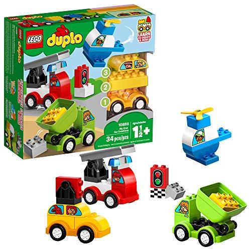 レゴ デュプロ 【送料無料】LEGO DUPLO My First Car Creations 10886 Building Blocks (34 Pieces)レゴ デュプロ
