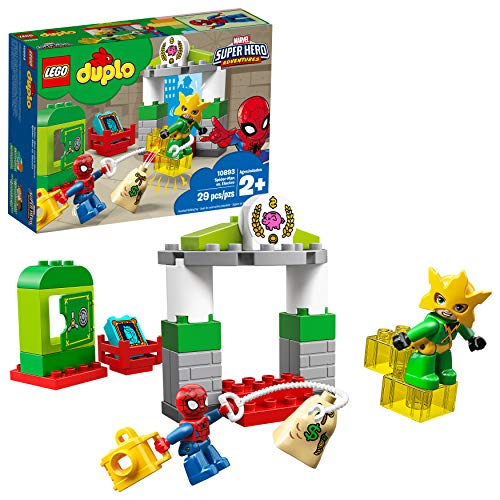 レゴ デュプロ 【送料無料】LEGO DUPLO Marvel Super Hero Adventures Spider Man vs Electro 10893 Building Blocks (29 Pieces)レゴ デュプロ