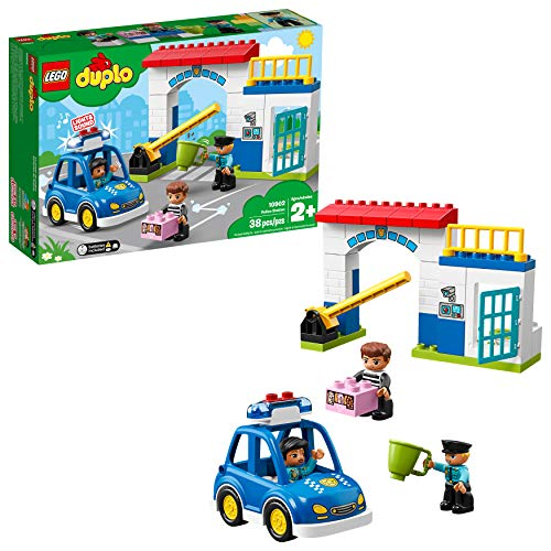 レゴ デュプロ 【送料無料】LEGO DUPLO Town Police Station 10902 Building Blocks (38 Pieces)レゴ デュプロ
