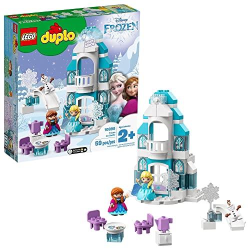 レゴ デュプロ 【送料無料】LEGO Disney Princess Elsa's Magical Ice Palace 43172 Toy Castle Building Kit with Mini Dolls, Castle Playset with Popular Frozen Characters Including Elsa, Olaf, Anna and More (701 Pieces)レゴ デュプロ