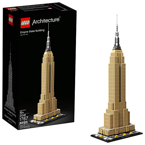 レゴ アーキテクチャシリーズ 【送料無料】LEGO Architecture Empire State Building 21046 New York City Skyline Architecture Model Kit for Adults and Kids, Build It Yourself Model Skyscraper (1767 Pieces)レゴ アーキテクチャシリーズ