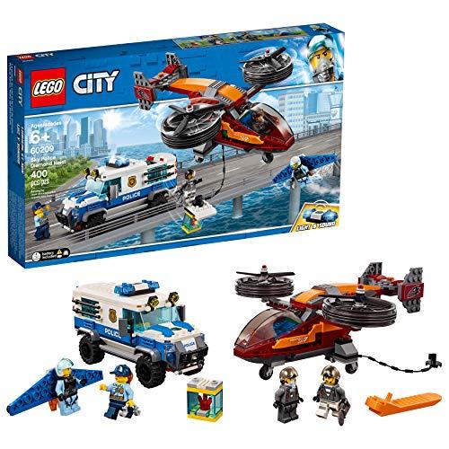レゴ シティ 【送料無料】LEGO City Sky Police Diamond Heist 60209 Building Kit (400 Pieces)レゴ シティ