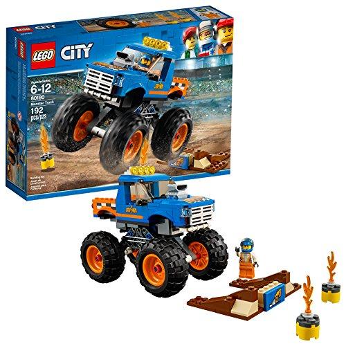 無料ラッピングでプレゼントや贈り物にも 逆輸入並行輸入送料込 レゴ シティ 送料無料 ☆国内最安値に挑戦☆ LEGO City Monster Truck Discontinued 60180 Building Pieces 192 Kit Manufacturer お金を節約 by