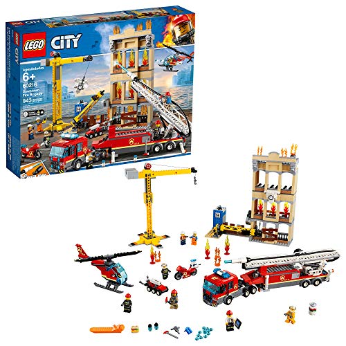 レゴ シティ 【送料無料】LEGO City Downtown Fire Brigade 60216 Building Kit (943 Pieces)レゴ シティ