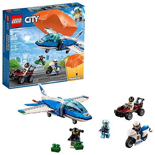 レゴ シティ 【送料無料】LEGO City Sky Police Parachute Arrest 60208 Building Kit (218 Pieces)レゴ シティ