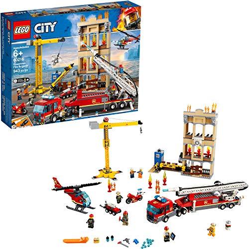 レゴ シティ LEGO City Downtown Fire Brigade 60216 Building Kit, 2019 (943 Pieces)レゴ シティ