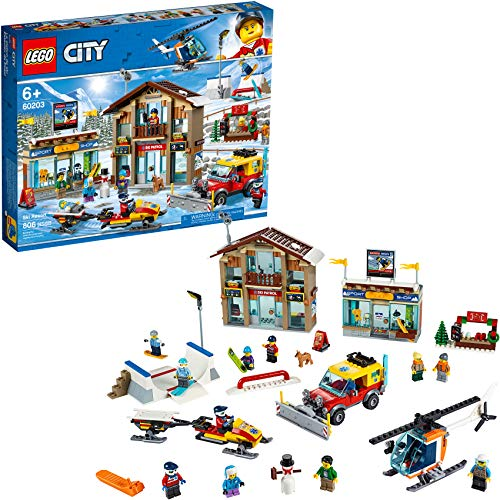 レゴ シティ LEGO City Ski Resort 60203 Building Kit Snow Toy for Kids, New 2019 (806 Pieces)レゴ シティ
