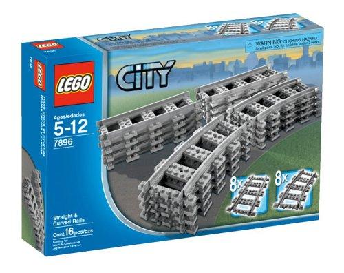 レゴ シティ 【送料無料】LEGO City Straight & Curved Railsレゴ シティ