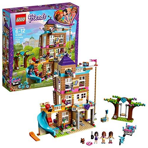 レゴ フレンズ 【送料無料】LEGO Friends Friendship House 41340 Kids Building Set with Mini-Doll Figures, Popular Toy and Gift for Girls (722 Piece)レゴ フレンズ