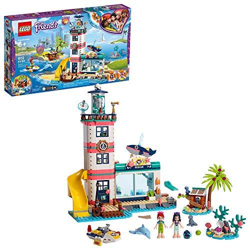 レゴ フレンズ 【送料無料】LEGO Friends Lighthouse Rescue Center 41380 Building Kit with Lighthouse Model and Tropical Island Includes Mini Dolls and Toy Animals for Pretend Play (602 Pieces)レゴ フレンズ