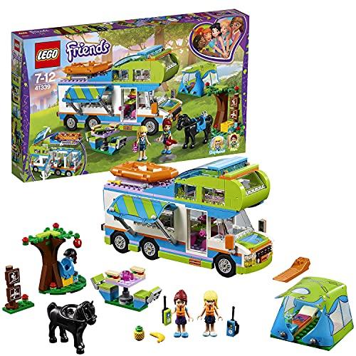 レゴ フレンズ 【送料無料】LEGO 41339 Friends Heartlake Mia's Camper Van Playset, Mia and Stephanie Mini Dolls, Build and Play Fun Toys for Kidsレゴ フレンズ