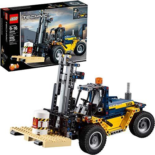 無料ラッピングでプレゼントや贈り物にも 逆輸入並行輸入送料込 レゴ テクニックシリーズ 送料無料 LEGO Technic ファクトリーアウトレット Heavy Duty 42079 592 Kit Discontinued by 激安卸販売新品 Manufacturer Forklift Building Pieces