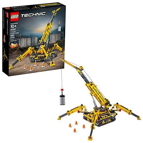 レゴ テクニックシリーズ LEGO Technic Compact Crawler Crane 42097 Building Kit, New 2019 (920 Pieces)レゴ テクニックシリーズ