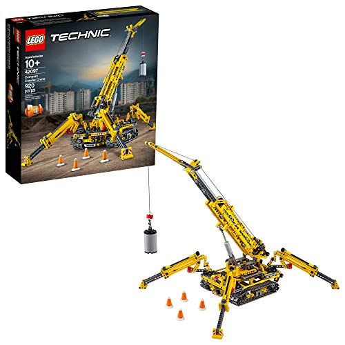 レゴ テクニックシリーズ 【送料無料】LEGO Technic Compact Crawler Crane 42097 Building Kit (920 Pieces)レゴ テクニックシリーズ