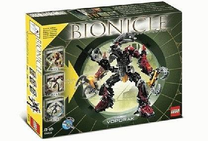 レゴ バイオニクル 【送料無料】Lego Bionicle 10203 Voporak Special Edition, 3 in 1 Sets, 8755, 8756, 8761, 647 Piecesレゴ バイオニクル