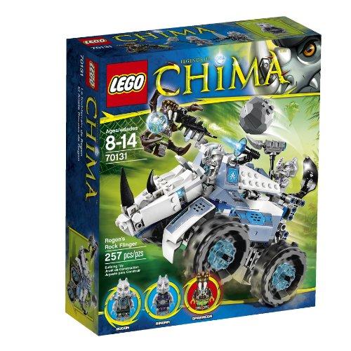 レゴ チーマ 【送料無料】LEGO Chima Rogon's Rock Flinger 70131レゴ チーマ