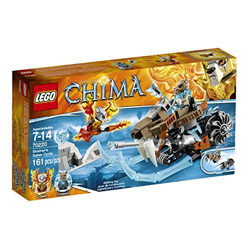 レゴ チーマ 【送料無料】LEGO Chima Strainor's Saber Cycle (70220)レゴ チーマ
