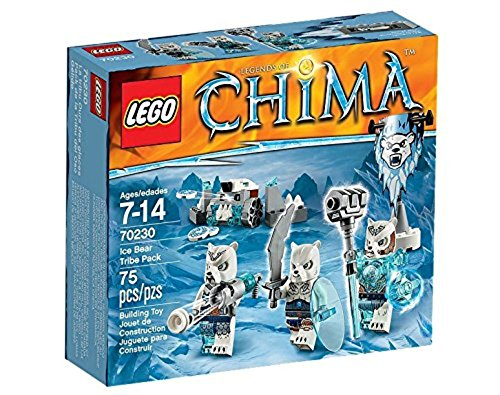 レゴ チーマ 【送料無料】LEGO Legends of Chima Ice Bear Tribe Pack Set #70230レゴ チーマ