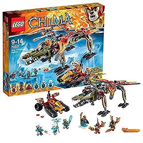 レゴ チーマ 【送料無料】LEGO Legends of Chima 70227 King Crominus' Rescueレゴ チーマ