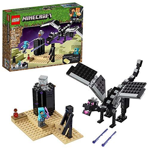 レゴ マインクラフト 【送料無料】LEGO Minecraft The End Battle 21151 Ender Dragon Building Kit includes Dragon Slayer and Enderman Toy Figures for Dragon Fighting Adventures (222 Pieces)レゴ マインクラフト