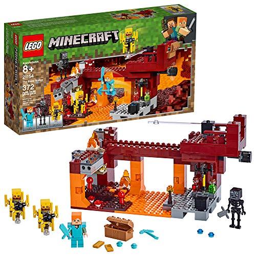 レゴ マインクラフト 【送料無料】LEGO Minecraft The Blaze Bridge 21154 Building Kit (372 Pieces)レゴ マインクラフト