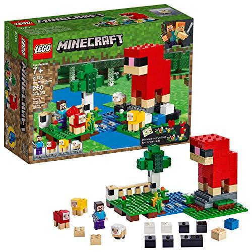 レゴ マインクラフト 【送料無料】LEGO Minecraft The Wool Farm 21153 Building Kit (260 Pieces)レゴ マインクラフト