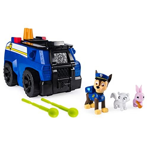 パウパトロール アメリカ直輸入 英語 バイリンガル育児 おもちゃ 【送料無料】Paw Patrol 6052626 Chase's Ride 'n' Rescue, Transforming 2-in-1 Playset and Police Cruiser, for Kids Ageパウパトロール アメリカ直輸入 英語 バイリンガル育児 おもちゃ