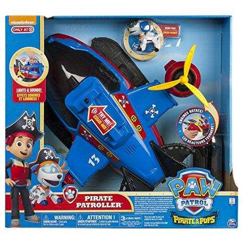パウパトロール アメリカ直輸入 英語 バイリンガル育児 おもちゃ Paw Patrol Pirate Pups Pirate Patroller Vehicle Playsetパウパトロール アメリカ直輸入 英語 バイリンガル育児 おもちゃ