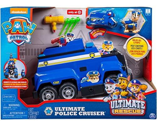 パウパトロール アメリカ直輸入 英語 バイリンガル育児 おもちゃ PAW Patrol Ultimate Police Cruiserパウパトロール アメリカ直輸入 英語 バイリンガル育児 おもちゃ