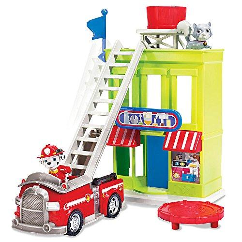 パウパトロール アメリカ直輸入 英語 バイリンガル育児 おもちゃ Paw Patrol Adventure Bay Town Set with Marshallパウパトロール アメリカ直輸入 英語 バイリンガル育児 おもちゃ