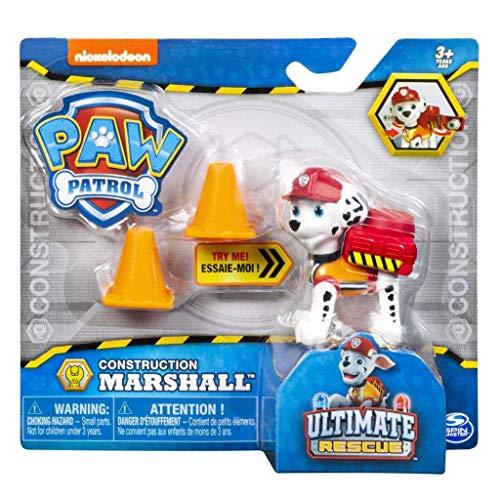 パウパトロール アメリカ直輸入 英語 バイリンガル育児 おもちゃ Paw Patrol Marshall Action Figure Ultimate Rescue Construction - Age 3+パウパトロール アメリカ直輸入 英語 バイリンガル育児 おもちゃ