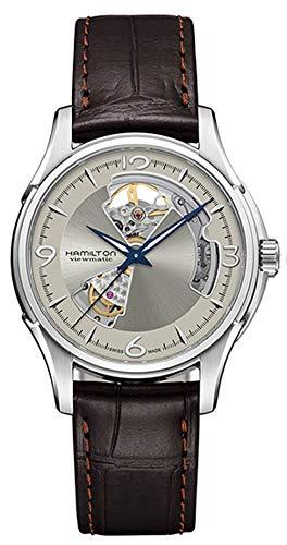 腕時計 ハミルトン メンズ 【送料無料】Hamilton Jazzmaster Open Heart Silver Dial Men's Watch H32565521腕時計 ハミルトン メンズ
