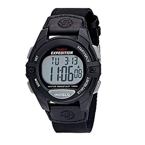 タイメックス 腕時計 レディース Timex Expedition Full Size Chrono Alarm Time Core Watch - Blackタイメックス 腕時計 レディース