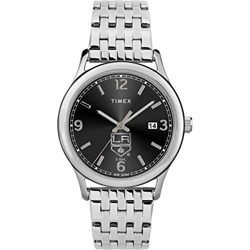 腕時計 タイメックス レディース 【送料無料】Timex Women's TWZHKINWC NHL Sage LA Kings Watch腕時計 タイメックス レディース