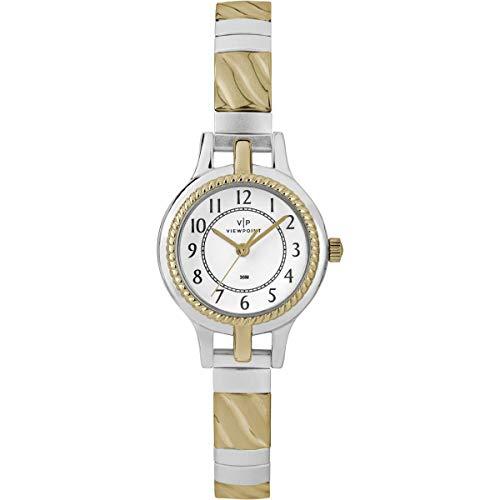 タイメックス 腕時計 レディース 【送料無料】Timex CC3D82400 Ladies Two-Tone Stainless Steel44; Navy Watchタイメックス 腕時計 レディース