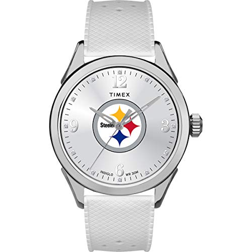 タイメックス 腕時計 レディース 【送料無料】Timex Women's TWZFSTEWB NFL Athena Pittsburgh Steelers Watchタイメックス 腕時計 レディース