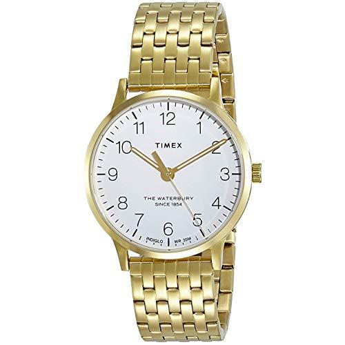 タイメックス 腕時計 レディース 【送料無料】Timex Waterbury Classic Quartz Movement White Dial Ladies Watch TW2R72700タイメックス 腕時計 レディース