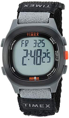 タイメックス 腕時計 メンズ 【送料無料】Timex Men's TW5M19300 Ironman Transit Full-Size Black/Red Fast Wrap Watchタイメックス 腕時計 メンズ