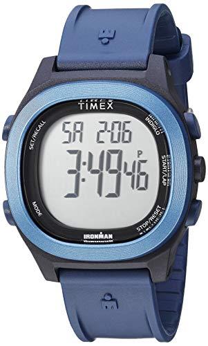 タイメックス 腕時計 メンズ 【送料無料】Timex Men's TW5M19200 Ironman Transit Full-Size Blue Resin Strap Watchタイメックス 腕時計 メンズ